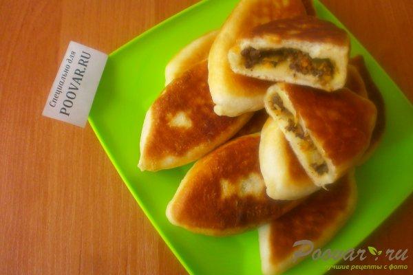 Жареные пирожки с ливером Шаг 18 (картинка)