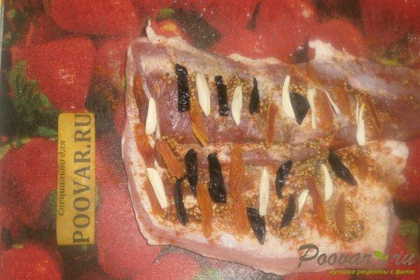Рулет из свиной грудинки в фольге Шаг 8 (картинка)