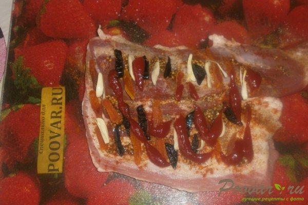 Рулет из свиной грудинки в фольге Шаг 9 (картинка)