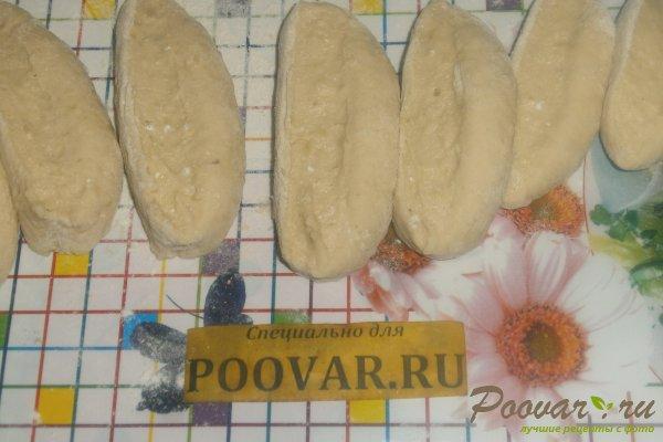 Пирожки из картофельного теста с огурцами Шаг 13 (картинка)