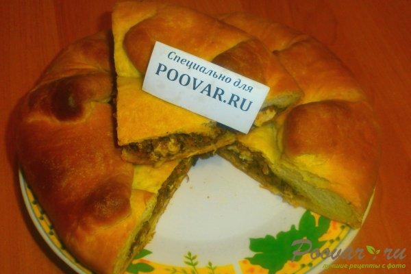 Пирог с начинкой из ливера Изображение