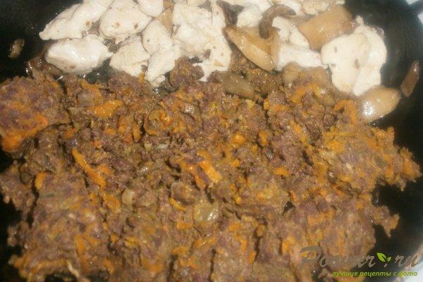 Пирог с начинкой из ливера Шаг 7 (картинка)