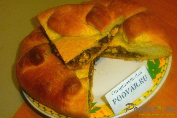 Пирог с начинкой из ливера Шаг 19 (картинка)