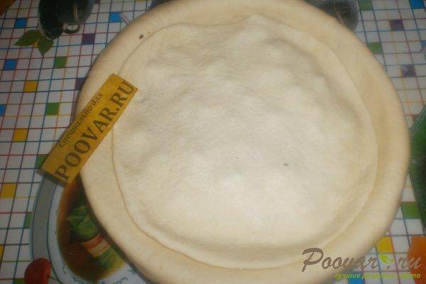 Пирог с начинкой из ливера Шаг 16 (картинка)