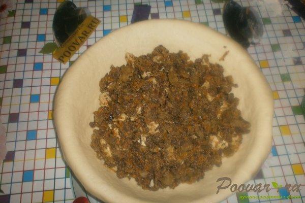 Пирог с начинкой из ливера Шаг 15 (картинка)