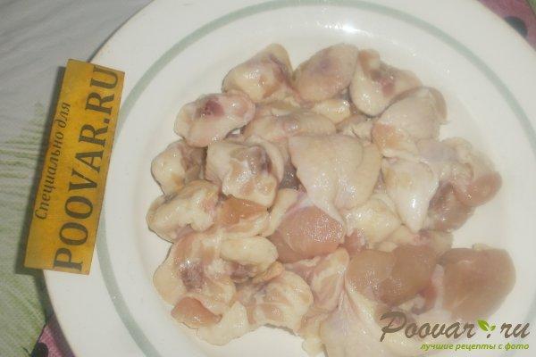 Куриные хвостики в томатном соусе Шаг 1 (картинка)