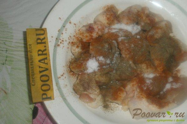 Куриные хвостики в томатном соусе Шаг 2 (картинка)