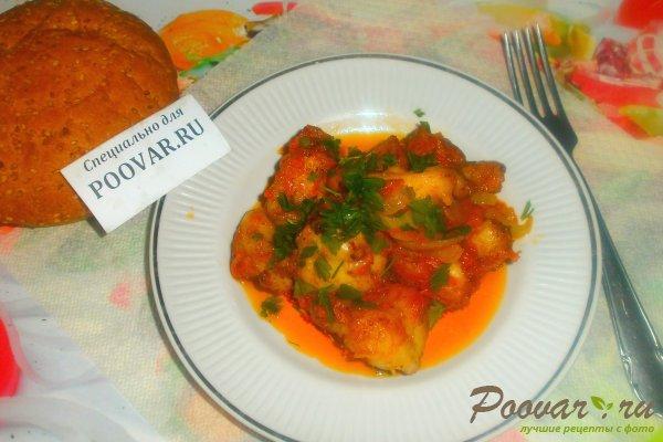 Куриные хвостики в томатном соусе Изображение