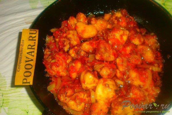 Куриные хвостики в томатном соусе Шаг 15 (картинка)