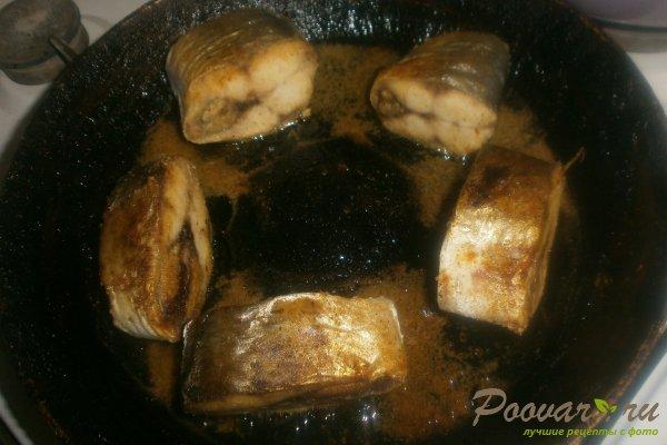 Жареная сельдь на сковороде с овощами Шаг 7 (картинка)