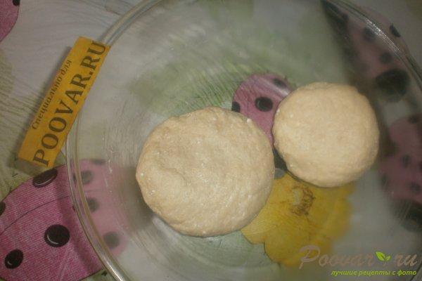 Яблочный пирог с вишней из творожного теста Шаг 5 (картинка)