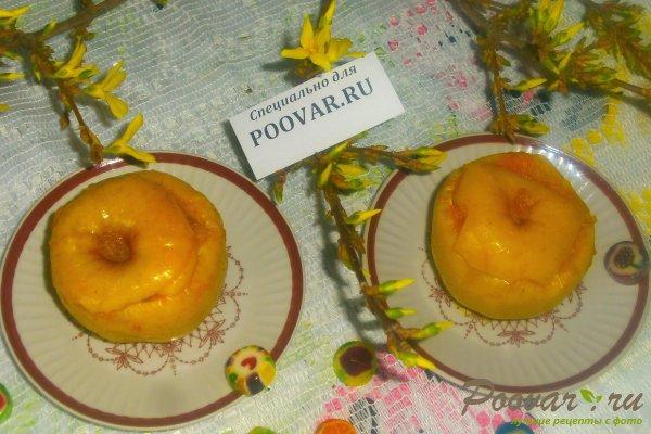Запечённые яблоки с тыквой Изображение