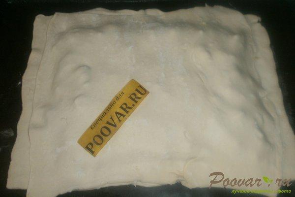 Мясной пирог из слоёного теста Шаг 11 (картинка)