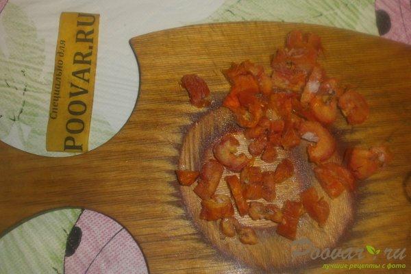 Слойки с мясной начинкой из слоёного теста Шаг 5 (картинка)