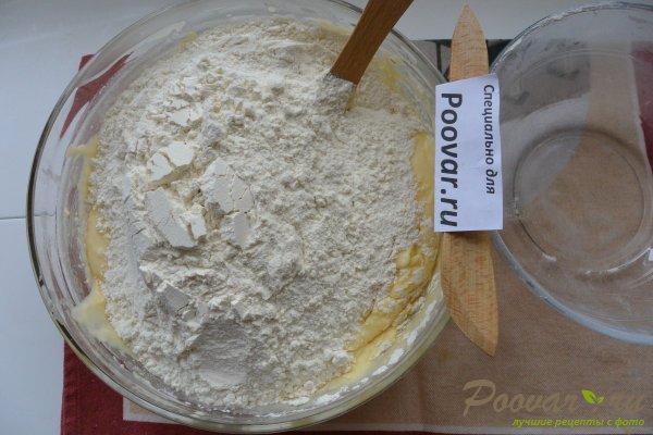 Пирог с творогом и вишней Шаг 10 (картинка)
