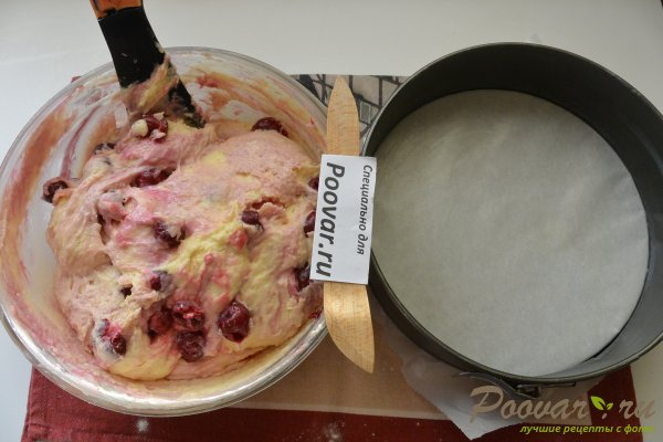 Пирог с творогом и вишней Шаг 14 (картинка)