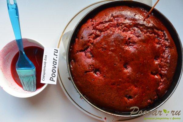 Пирог с творогом и вишней Шаг 18 (картинка)