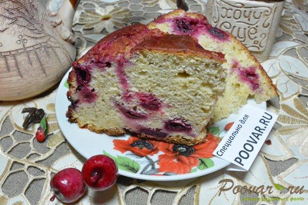 Пирог с творогом и вишней Шаг 20 (картинка)