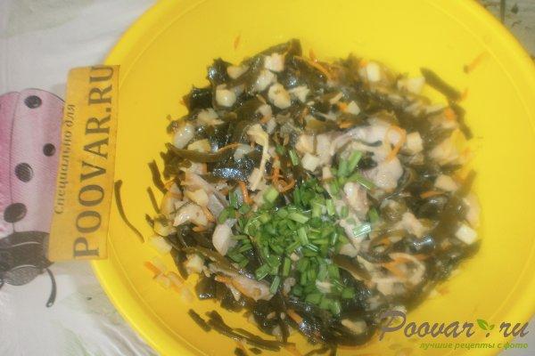 Салат из морской капусты с сельдью Шаг 10 (картинка)