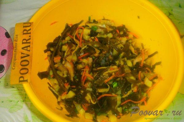 Салат из морской капусты с сельдью Шаг 13 (картинка)