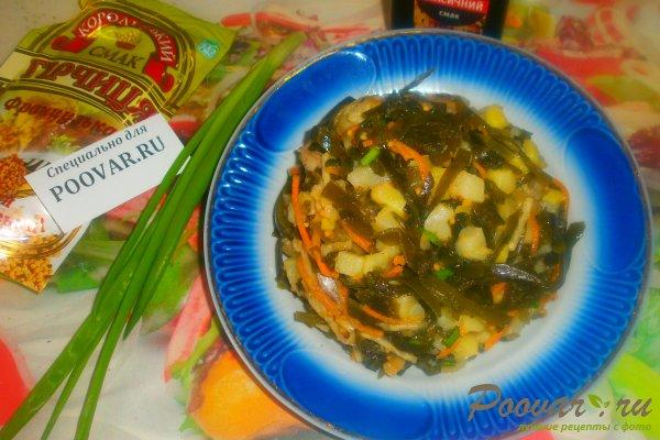 Салат из морской капусты с сельдью Шаг 14 (картинка)