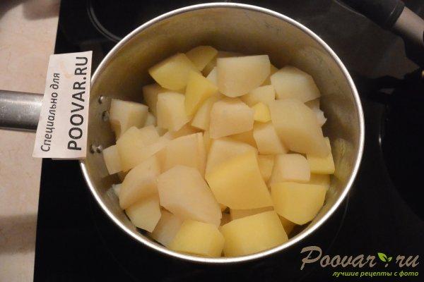 Рулетики из лаваша с картофелем и колбасой Шаг 6 (картинка)