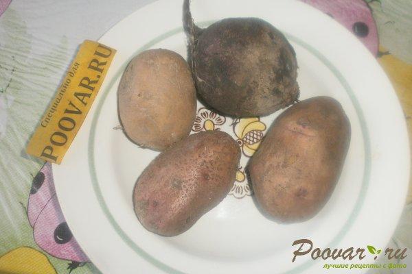 Картофельный салат со свёклой Шаг 1 (картинка)