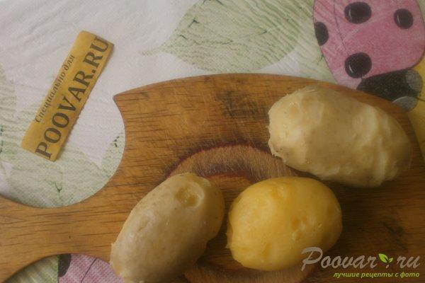 Картофельный салат со свёклой Шаг 3 (картинка)
