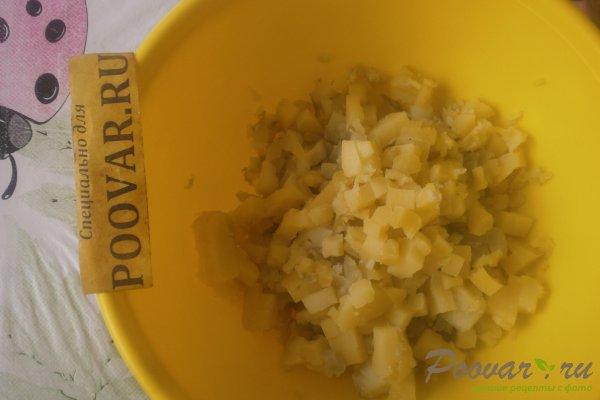 Картофельный салат со свёклой Шаг 4 (картинка)