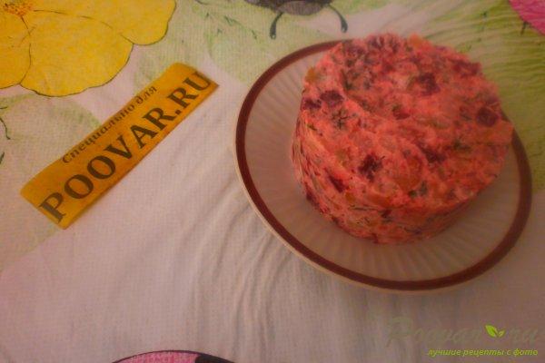 Картофельный салат со свёклой Шаг 14 (картинка)