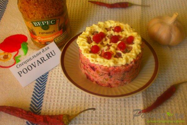 Картофельный салат со свёклой Шаг 15 (картинка)