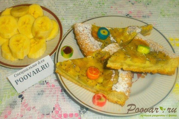Пирог с бананом Изображение