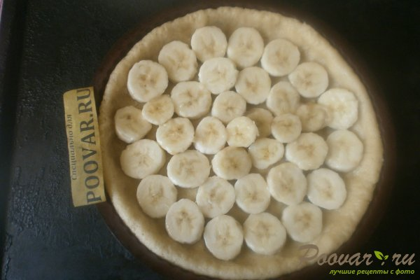 Пирог с бананом Шаг 8 (картинка)
