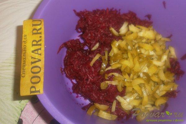 Салат из свёклы с огурцами Шаг 5 (картинка)