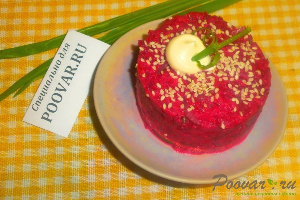 Салат из свёклы с огурцами Шаг 11 (картинка)
