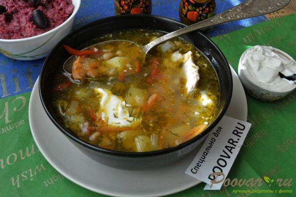 Суп из свинины с фасолью Изображение