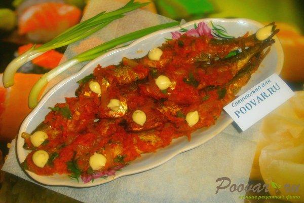 Салака в томатном соусе с овощами Шаг 18 (картинка)