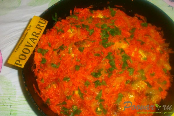 Салака в томатном соусе с овощами Шаг 17 (картинка)