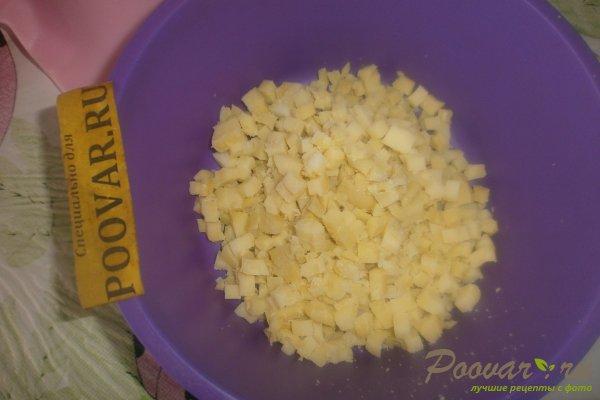 Салат из картофеля и оливок Шаг 5 (картинка)