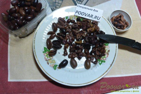 Салат из свеклы, оливок с майонезом Шаг 6 (картинка)