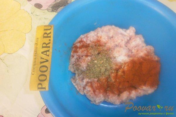 Колбаски из индейки с сыром Шаг 2 (картинка)
