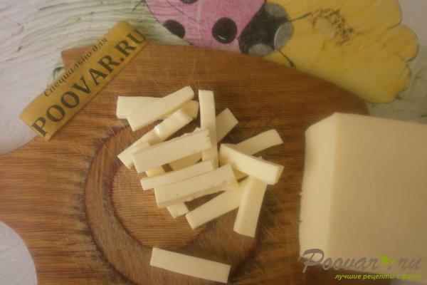 Колбаски из индейки с сыром Шаг 4 (картинка)