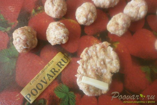 Колбаски из индейки с сыром Шаг 8 (картинка)