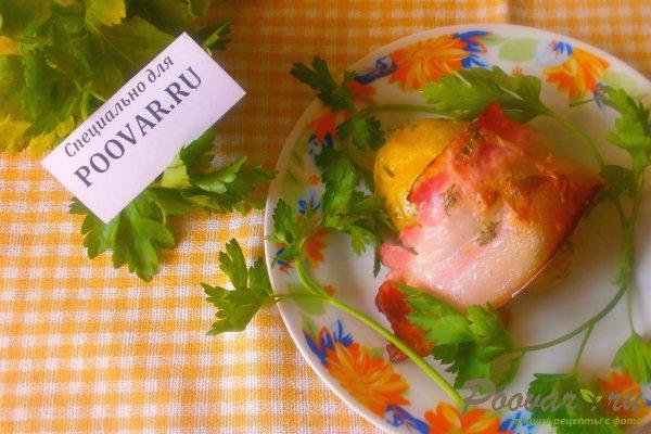 Картофель запечённый в беконе Изображение