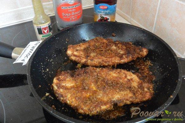 Жареная куриная грудка на сковороде Шаг 11 (картинка)