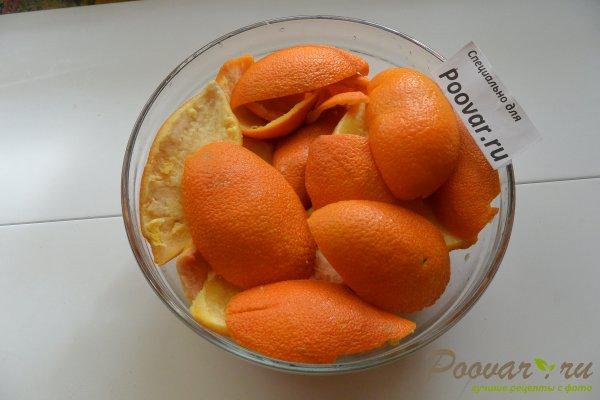 Цукаты из апельсиновых корок с мандаринами Шаг 2 (картинка)