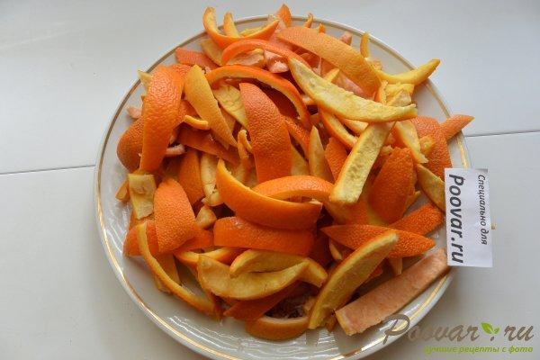 Цукаты из апельсиновых корок с мандаринами Шаг 3 (картинка)