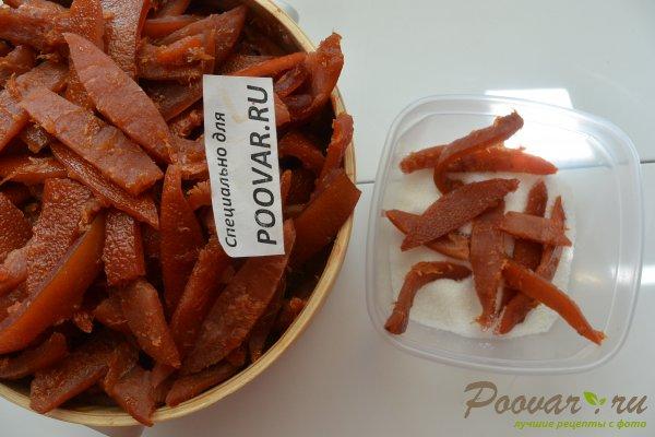 Цукаты из апельсиновых корок с мандаринами Шаг 11 (картинка)