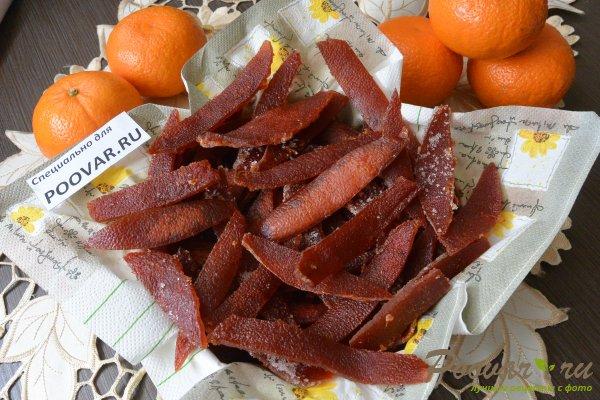 Цукаты из апельсиновых корок с мандаринами Шаг 13 (картинка)