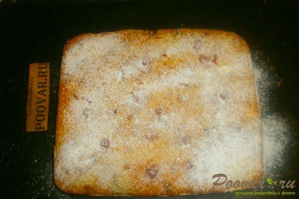 Заливной пирог с творожной начинкой Шаг 17 (картинка)